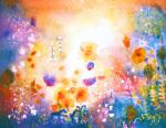 Summer Garden 2 by Luisa Gaye Ayre