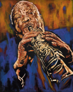 Sidney Bechet by John Wilsher