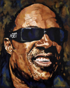 Stevie Wonder by John Wilsher