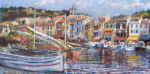Cassis Harbour Panorama
