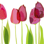 Textile Tulips