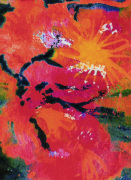Floral Sun by Luisa Gaye Ayre
