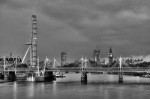 River Thames BW by Christopher Holt