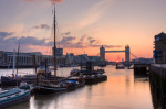 River Thames at Dusk by Christopher Holt