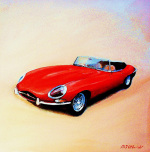 Jaguar E Type by Martin Ulbricht