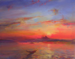 Sunset Over The Salute by Martin Ulbricht