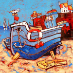 Playing in the wrong quay by Brian Petrie