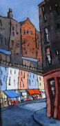 Sunshine on Victoria Street by Brian Petrie