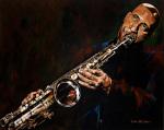 Sonny Rollins by John Wilsher
