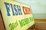 Fish Chips Sign by Marc Lickfett