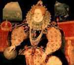 Elizabeth I, Armada Portrait, c.1588 by English or French School