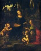 Madonna of the Rocks, c.1478 by Leonardo da Vinci