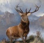 Monarch of the Glen, 1851 by Sir Edwin Henry Landseer
