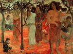 Nave Nave Mahana (Delightful Days), 1896 by Paul Gauguin