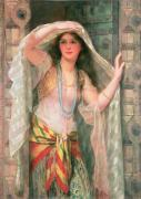 Safie, one of the three ladies of Baghdad by William Clark Wontner