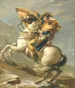 Napoleon Crossing the Alps 1803