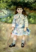 Child with a Whip, 1885 by Pierre Auguste Renoir