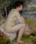 Nude in a Landscape, 1883 by Pierre Auguste Renoir