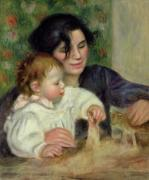 Gabrielle and Jean, c.1895 by Pierre Auguste Renoir