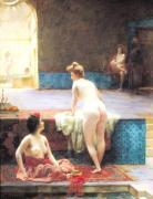 The Turkish Bath, 1896 by Serkis Diranian