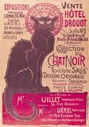 Collection du Chat Noir by Theophile-Alexandre Steinlen