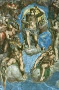 Christ, detail from 'The Last Judgement' by Michelangelo