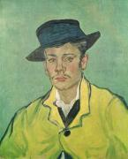 Portrait of Armand Roulin, 1888 by Vincent Van Gogh