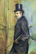 Louis Pascal, 1891 by Henri de Toulouse-Lautrec