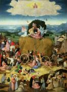 The Haywain c.1500 by Hieronymus Bosch