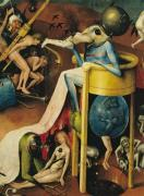 The Garden of Earthly Delights: Hell c.1500 by Hieronymus Bosch