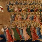 Christ Glorified in the Court of Heaven, 1419 by Attributed to Fra Angelico