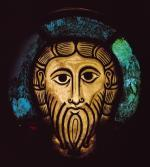Head of Christ, c.1070 by German School