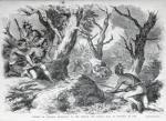 Defeat of General Braddock in Virginia in 1755 by American School