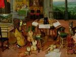 The Sense of Sound, 1617 by Jan Bruegel The Younger
