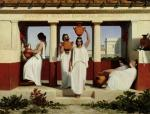 Greek Women at the Fountain, 1841 by Dominique Louis Papety