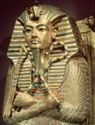 Detail of the coffin of Tutankhamun by Egyptian Art
