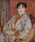 Madame Heriot, 1882 by Pierre Auguste Renoir