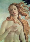 Venus, detail from The Birth Of Venus by Sandro Botticelli