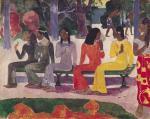 Ta Matete by Paul Gauguin