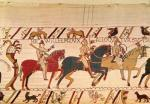 Bayeaux Tapestry - detail III by English or French School