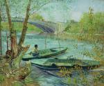 Fishing in the Spring. Pont de Clichy 1887