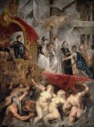 The Arrival of Marie de Medici in Marseilles 1621 by Peter Paul Rubens