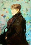 Autumn (Mery Laurent) 1882 by Edouard Manet