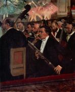 The Opera Orchestra c.1870