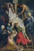 Descent from the Cross 1617 by Peter Paul Rubens