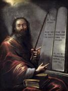 Moses and the Tablets of the Law by Claude Vignon