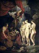 Education of Marie de Medici by Peter Paul Rubens