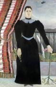 Portrait of a woman 1895 by Henri Rousseau
