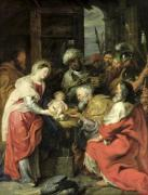 Adoration of the Magi 1626 by Peter Paul Rubens