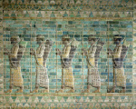Frieze of archers from the Palace of Darius the Great by Persian School